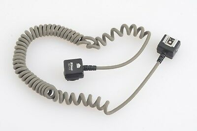 Good Genuine Nikon Sc-17 Ttl Flash Sync Coiled Cord