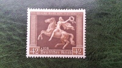 Germany Third Reich 1938  Mich 671 horseracing  MH Cat E26