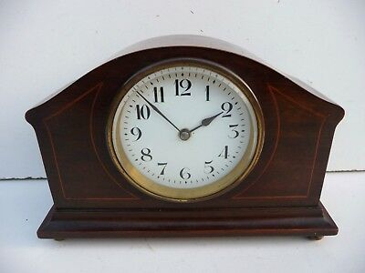 Old Japy Freres French Mahogany Mantel Clock