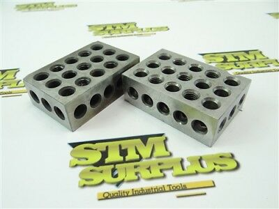 Pair Of Machinists 1-2-3 Parallel Blocks
