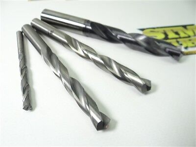 Lot Of 4 Solid Carbide Drills 5.0Mm, 9.20Mm, 10.2Mm & 13.5Mm