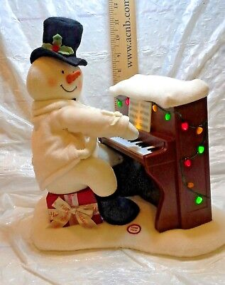 HALLMARK 2005 JINGLE PALS PIANO SNOWMAN ANIMATED MUSIC LIGHTS Christmas CUTE!