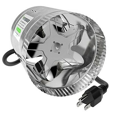 VIVOSUN 6 inch Inline Duct Booster Fan 240 CFM, Extreme Low Noise