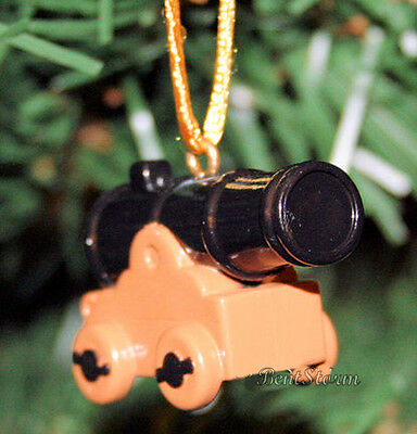Custom Disney PETER PAN NEVERLAND MILITARY GUN CANNON PVC Christmas Ornament NEW