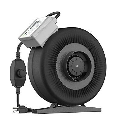 VIVOSUN 4 Inch 203 CFM Inline Duct Ventilation Fan with Variable Speed Controlle