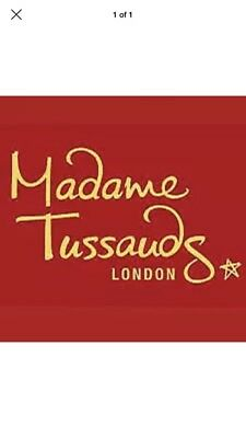 2 X Madame Tussauds Tickets ( London ) - Pick Your Own Date