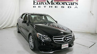 2014 Mercedes-Benz E-Class 4dr Sedan E 550 Sport 4MATIC mercedes benz e550 e 550 awd 4matic used sport black navigation v8 14 certified