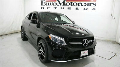 2016 Mercedes-Benz GLE 4MATIC 4dr GLE 450 AMG Coupe mercedes benz gle 4matic gle450 amg coupe certified 17 black gle63 navigation