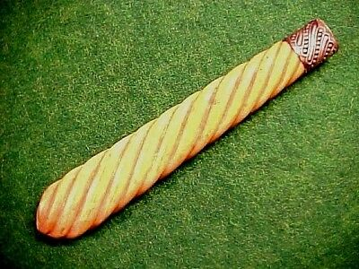 Ld Carved Bovine Bone Sheffield Dagger Handle Great Color And Age