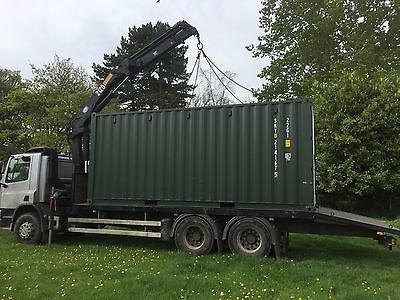 Plant, Container, Building Materials & More Crane Assisted Haulage Offered
