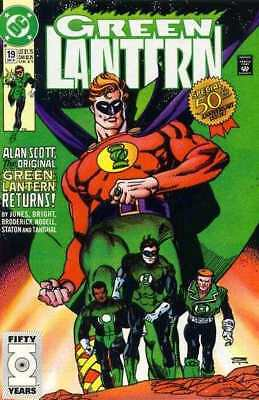 Green Lantern (1990 series) #19 in Near Mint condition. DC comics [*to]