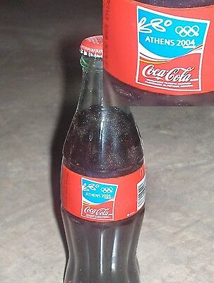 2004 Athens Olympic Coke Bottle