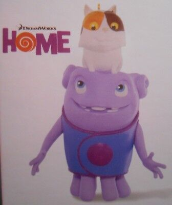 Hallmark Keepsake Ornament 2015 Dreamworks Movie Home Boov Oh & Pig the Cat