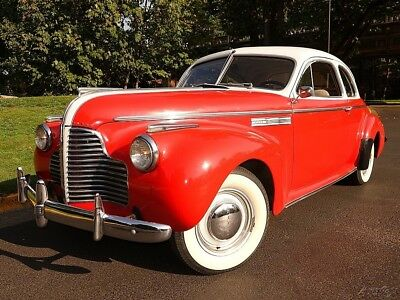 1940 Buick Super Coupe 2 door 1940 Buick Super Coupe 3-Speed Manual Straight 8