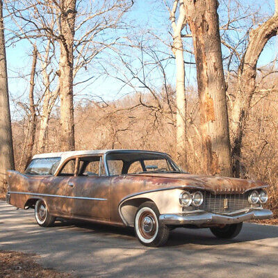 1960 Other Makes Deluxe Suburban Station Wagon 1960 Plymouth Deluxe Suburban Station Wagon