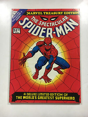 MARVEL SPECIAL TREASURY EDITION SPECTACULAR SPIDER-MAN #1 1974 BRONZE Giant Size