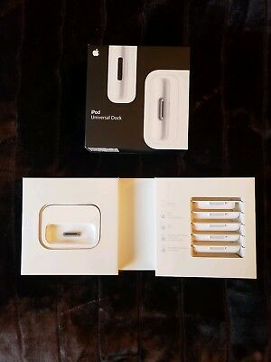 Apple iPod Universal Dock - NEW in original box, opened, but never used.