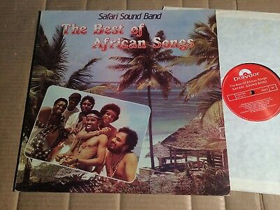 Safari Sound Band - The Best Of African Songs - Lp - Polydor Kenya 1984