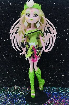 Monster High Batsy Claro Brand Boo Students White Vampire Bat Doll