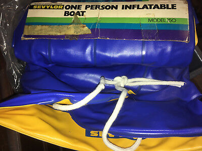 One Man Inflatable Boat - - New in Box
