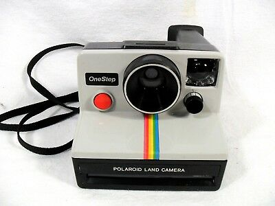 Vintage Polaroid Land Camera. One Step Instant, Uses Sx-70 Film. Tested, Works.