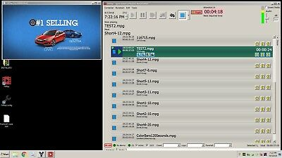 Playout Software for BlackMagic Decklink SDI cards television automation