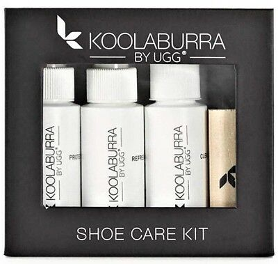 UGG KOOLABURRA SHOE CARE KIT Protector Cleaner Conditioner Freshener Brush Erase