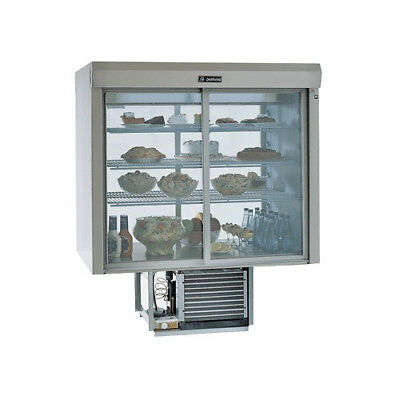 Delfield Refrigerated Display Case Sliding Doors Both Sides F5PC72N