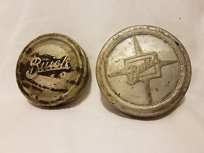 Lot of 2 Cool Vintage Buick Grease Caps