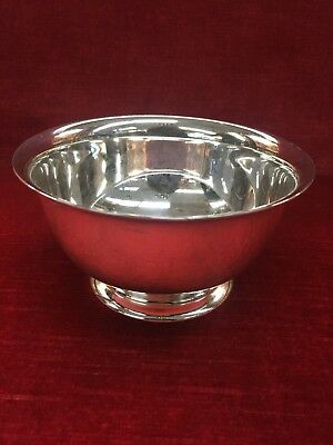 """Sterling Tiffany & Co. Sterling Revere Bowl 2.5"""" Tall with Original Box and Bag"""