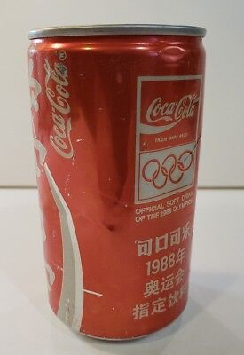 Coca-Cola can 1988 Olympic Games - China