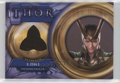 2011 Upper Deck Marvel Thor: The Movie Costume Memorabilia #F4 Loki Card 0c3