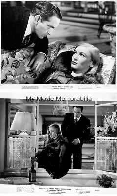 Veronica Lake 2 Ea Original 1942 Gelatin Silver Photographs I Married A Witch 2