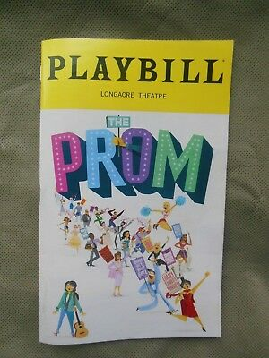 Playbill from THE PROM on Broadway