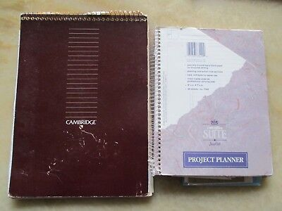 1990s VINTAGE SOULFUL HANDWRITTEN JOURNAL DIARY CALIFORNIA 30 YR OLD FEMALE