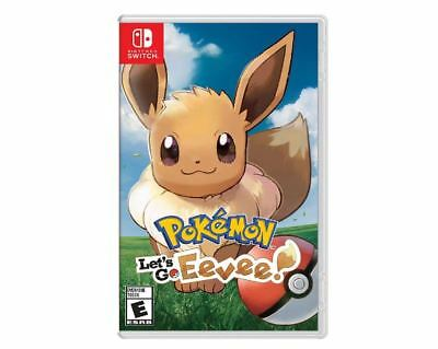 Pokémon: Let's Go, Eevee! (Nintendo Switch, 2018) EU Version (Works in USA)