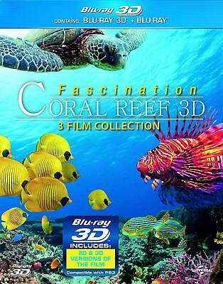 Coral Reef 3 Film Collection (3D + 2D Blu-ray, 6 Discs, Region Free) *NEW*