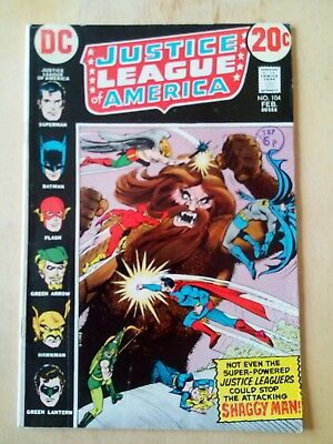 Justice League Of America No,194. 1973 VG+