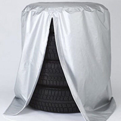 32'' Automobile Tire Storage Bag-Heavy-Duty Dustproof Protective Cover Polyester