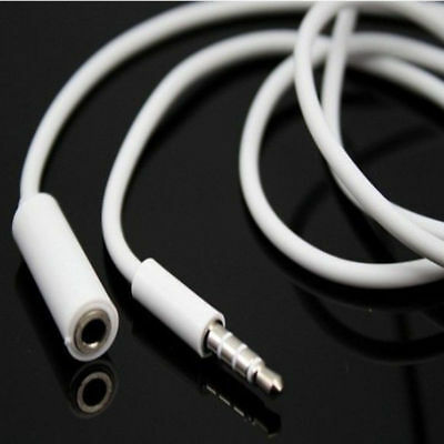 3.5mm Male to Female Stereo Audio Headphone Earphone Aux Extension Cord Cable