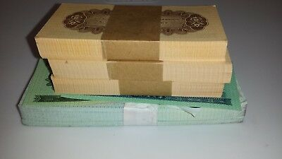400 pieces/4 BUNDLES CHINA 1 FEN/2 JIAO BANKNOTES UNC NOTES LOT-VINTAGE CHINESE