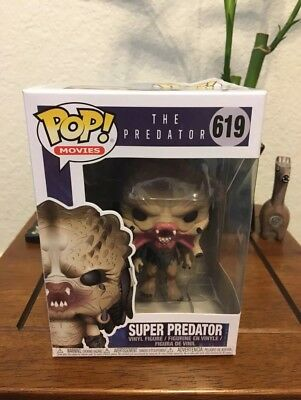 Funko Pop Movies The Predator Super Predator Rare Licensing Error!
