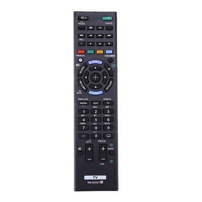 Black Plastic Remote Control RMED047 For SONY Bravia TV KDL-40HX750 KDL-46HX850