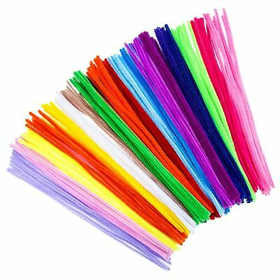 Creator Zone Gaint Pipe Cleaners 70pk Assorted Colours 30cm Chenille Stems Craft