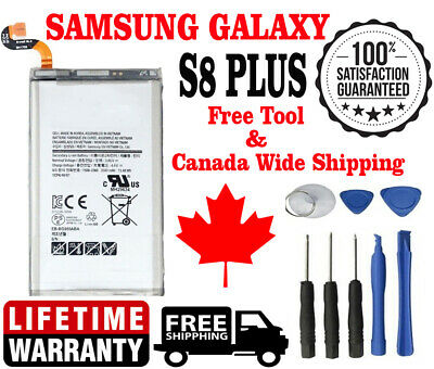 Original OEM Samsung Galaxy S8 PLUS Battery 3500mAh EB-BG955ABE G955W with Tools