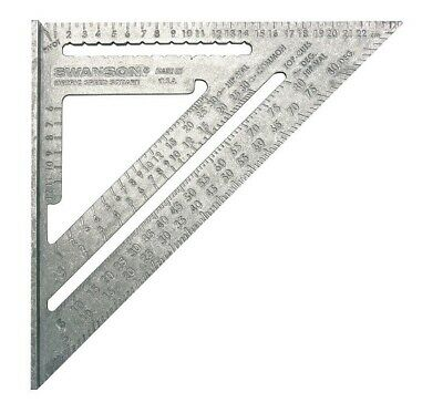Swanson Speed Square 25cm Metric  Rafter Angle NA202