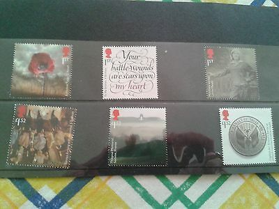 First/1st World War/WWI 1916 Set of Six Stamps : Mint/Unused
