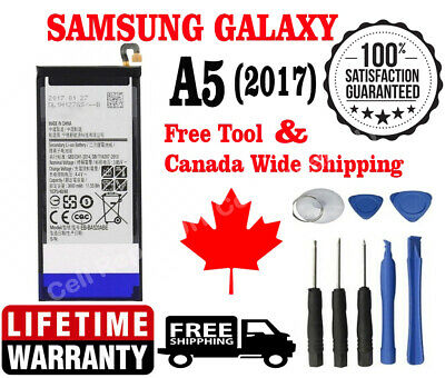 Brand New OEM Samsung A5 (2017) Battery 3000mAh EB-BA520ABE A520W with Tools