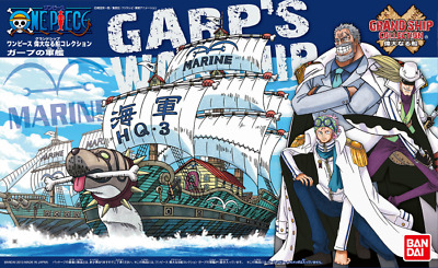 Bandai One Piece Kit - Grand Ship Collection - Garps War Ship - Neu/ovp