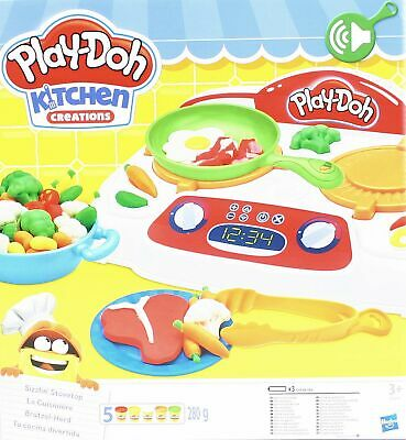 HASBRO Play-Doh Kitchen-Creation Brutzel-Herd mit Sound Knete 9014